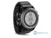Умные часы черные c металлическим браслетом Garmin Fenix 3 Sapphire