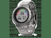 Умные часы серебристые с металлическим браслетом Garmin Fenix Chronos