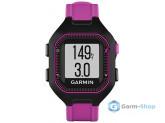 Умные часы черно-фиолетовые (маленькие) Garmin Forerunner 25