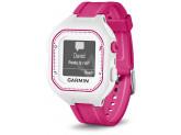Умные часы бело-розовые (маленькие) с пульсометром Garmin Forerunner 25