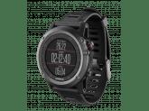 Умные часы серые с черным ремешком Garmin Fenix 3