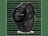 Умные часы черно-серые Garmin Forerunner 735 XT HRM-Tri-Swim