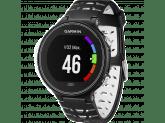 Умные часы черно-белые с пульсометром Garmin Forerunner 630 HRM