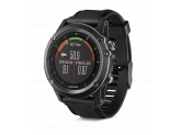 Умные часы черные с черным ремешком и пульсометром Garmin Fenix 3 Sapphire HR