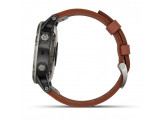 Умные авиационные часы с кожаным ремешком Garmin D2 Delta