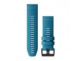 Ремешок сменный синий Garmin QuickFit 26 мм (силикон)