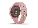 Умные часы розовые с золотистым безелем Garmin Vivoactive 4s