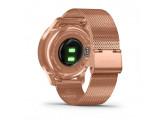 Умные часы розовое золото PVD 18K с ремешком