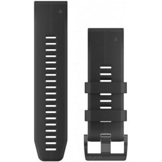 Ремешок сменный (уретан) черный Garmin Fenix 5x 26 мм
