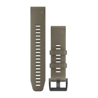 Ремешок сменный (силикон) светло-коричневый Garmin QuickFit 22 мм