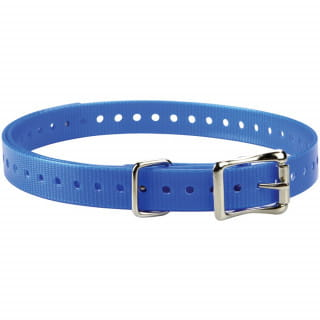 Ошейник (полиуретан) синий Garmin для Barklimiter, Delta 19мм