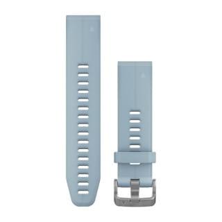 Ремешок сменный (силикон) голубой Garmin QuickFit 20 мм