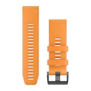 Ремешок сменный (уретан) оранжевый Garmin QuickFit 26 мм