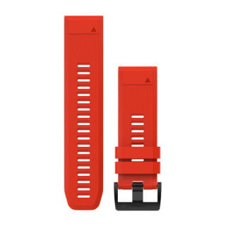 Ремешок сменный (уретан) красный Garmin QuickFit 26 мм