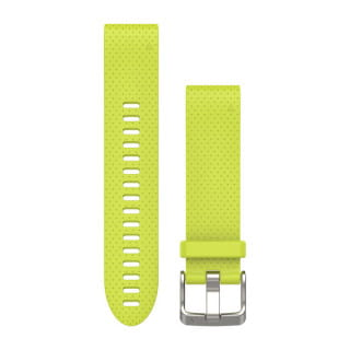 Ремешок сменный (уретан) желтый Garmin QuickFit 20 мм