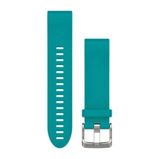 Ремешок сменный (уретан) бирюзовый Garmin QuickFit 20 мм