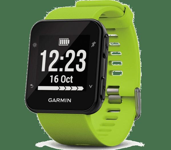 Умные часы светло-зеленые Garmin Forerunner 35