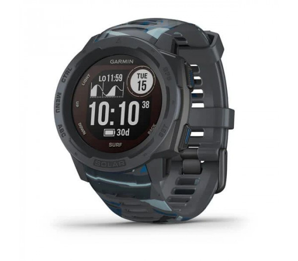 Умные часы Garmin Instinct Solar Surf Pipeline