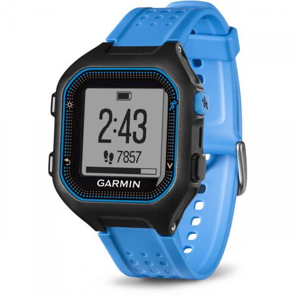 Умные часы черно-синие (большие) Garmin Forerunner 25