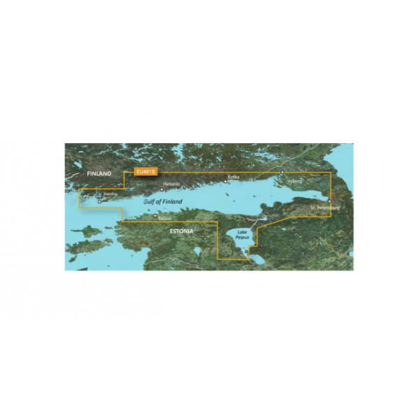 Карта водоемов Финский залив Garmin EU491S