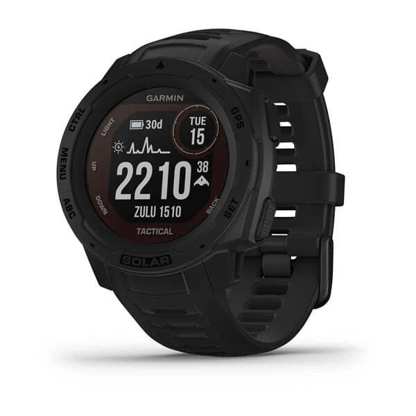 Умные часы Garmin Instinct  Solar Tactical Black
