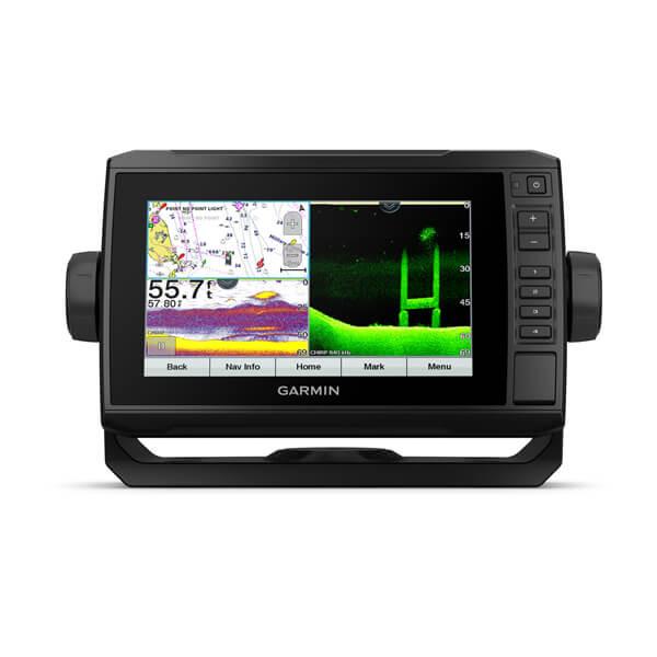 Картплоттер с ультравысокой детализацией Garmin Echomap UHD 72cv