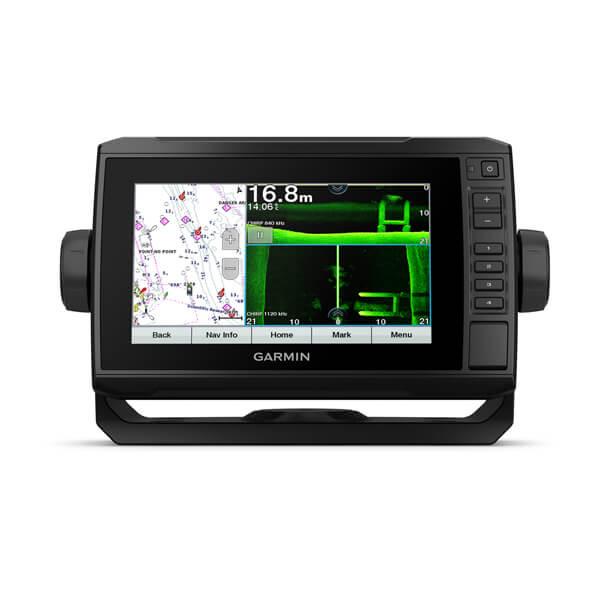 Картплоттер с боковым сканированием 1200кГц и ультравысокой детализацией Garmin Echomap UHD 72sv