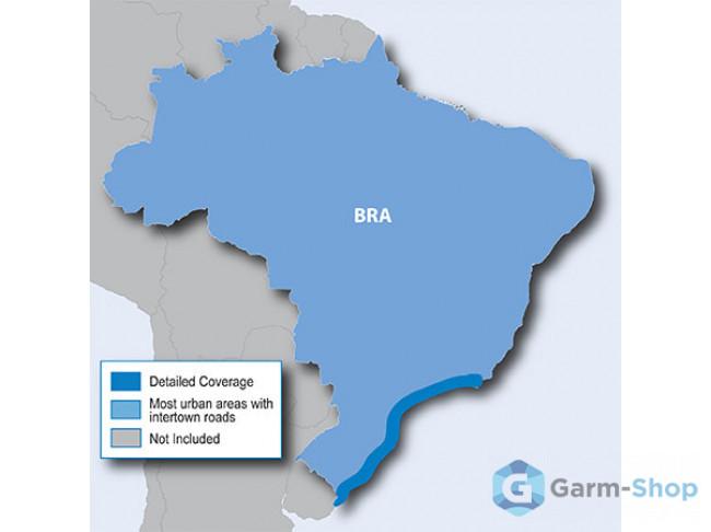 Navteq City Navigator: Brazil NT 2012.20 010-10759-00 в фирменном магазине Garmin