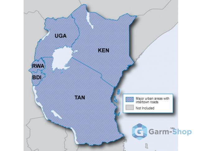 Navteq City Navigator:  Eastern Africa NT 2012.10 010-11632-00 в фирменном магазине Garmin