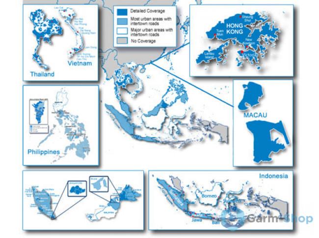 Navteq City Navigator: Southeast Asia NT 2012.20 010-11652-00 в фирменном магазине Garmin