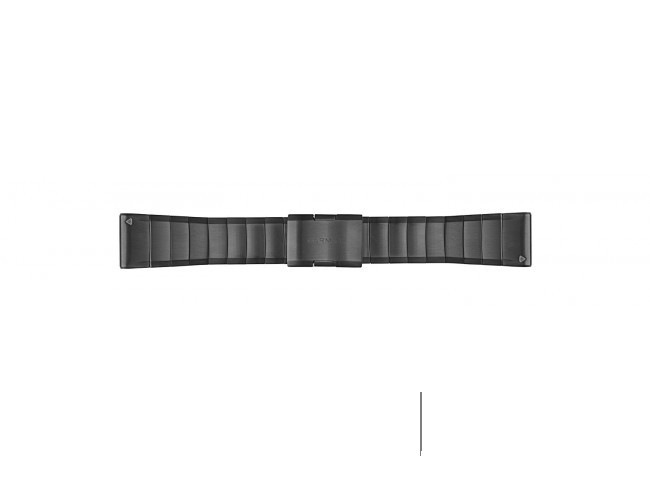 Ремешок сменный (сталь) Slate Gray Garmin QuickFit 26 мм