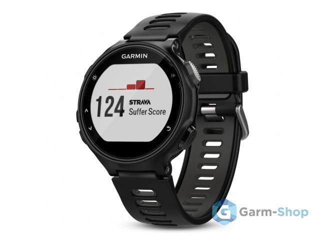 Умные часы черно-серые Garmin Forerunner 735 XT