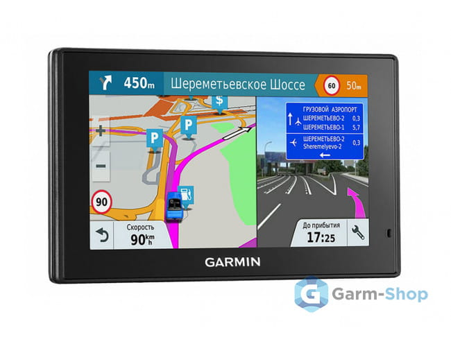 DriveSmart 51 RUS LMT 010-01680-46 в фирменном магазине Garmin