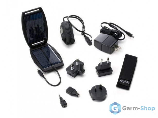 Комплект внешний источник питания + солнечная батарея Garmin