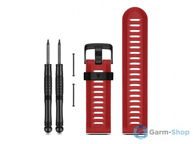 Ремешок сменный (уретан) красный Garmin Fenix 3