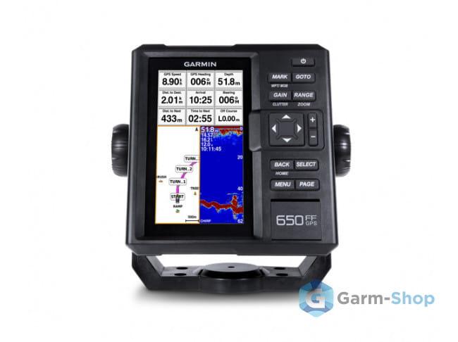 FishFinder 650 GPS NR010-01710-00GT20 в фирменном магазине Garmin