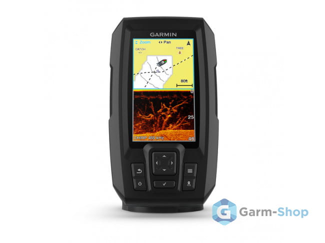Striker Plus 4cv 010-01871-01 в фирменном магазине Garmin