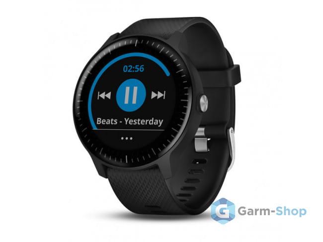 Умные часы черные Garmin Vivoactive 3 Music