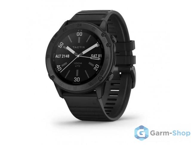 Tactix Delta Sapphire Edition черное DLC-покрытие с черным ремеш 010-02357-01 в фирменном магазине Garmin
