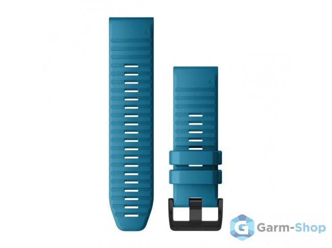 QuickFit 26 мм (силикон) синий 010-12864-21 в фирменном магазине Garmin