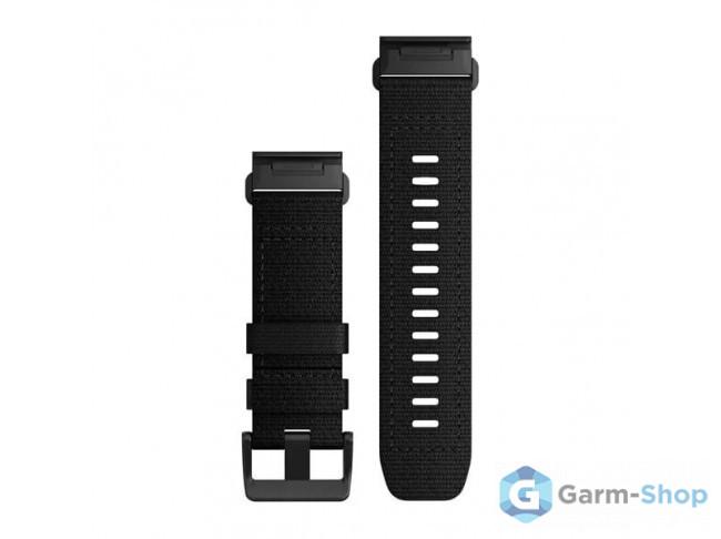 QuickFit 26 мм (нейлоновый) черный 010-13010-00 в фирменном магазине Garmin