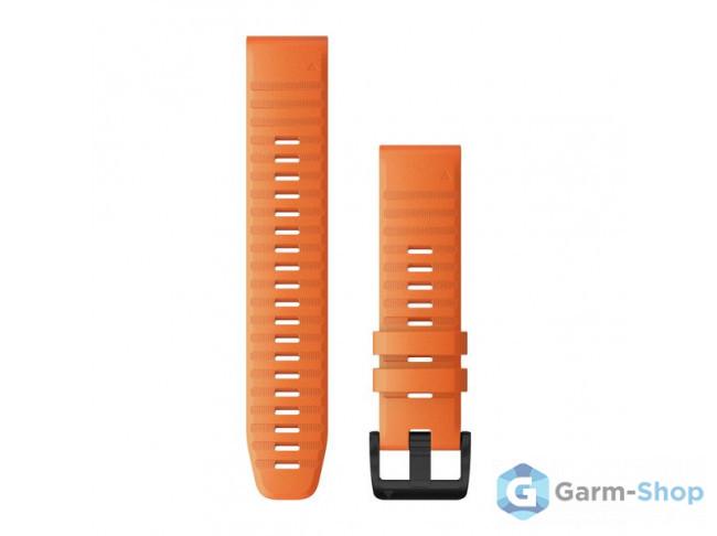 QuickFit 22 мм (силикон) оранжевый 010-12863-01 в фирменном магазине Garmin