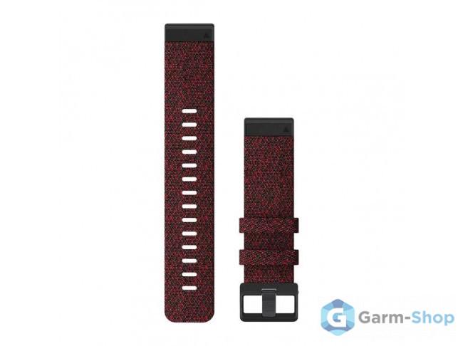 QuickFit 22 мм (нейлоновый) красно-черный 010-12863-06 в фирменном магазине Garmin