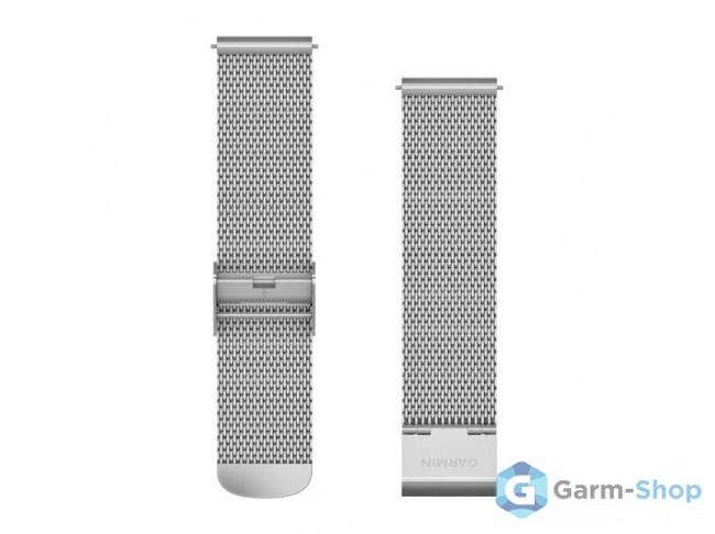 Quick Release 20 мм (металлический) миланская петля, серебристый 010-12924-23 в фирменном магазине Garmin