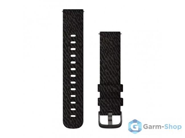 Quick Release 20 мм (нейлоновый) черный с черной застежкой 010-12924-13 в фирменном магазине Garmin