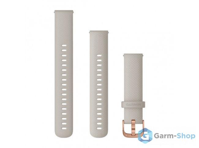 Quick Release 18 мм (силиконовый) песочный с застежкой цвета роз 010-12924-32 в фирменном магазине Garmin