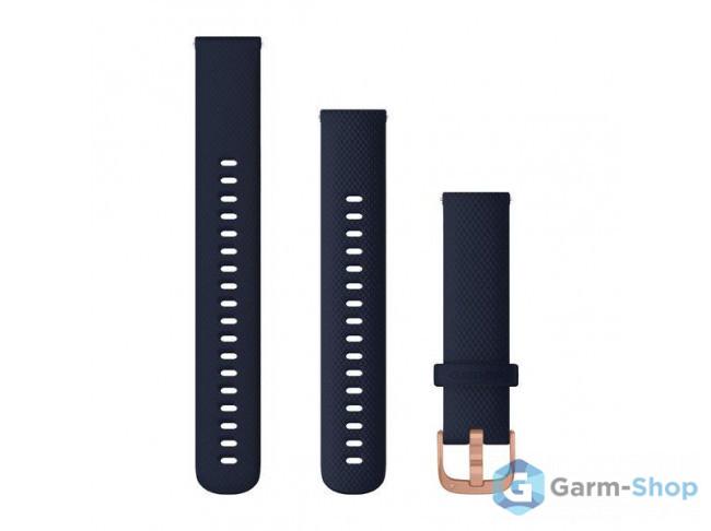 Quick Release 18 мм (силиконовый) темно-синий с застежкой цвета 010-12924-33 в фирменном магазине Garmin